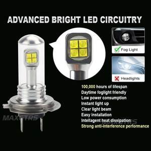 Image 3 - 2x H4 H7 H8 H11 9005 9006 HB3 HB4 40 ワット CREE LED チップ電球日中走行用ライト 6000 k 白車フォグランプ DRL ヘッドライト DC12V