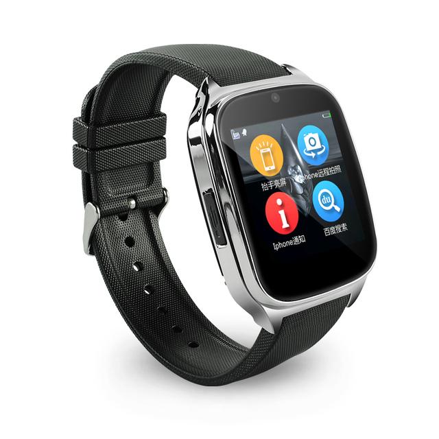 Smart watch bluetooth smartwatch com sim tf cartão câmera remota pedômetro monitor de sono à prova d' água para android ios telefone adulto