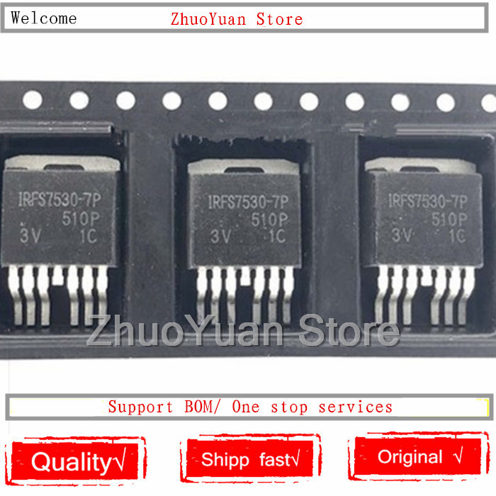 10PCS/lot IRFS7530-7P IRFS7530-7PPBF IRFS7530 TO-263-7 New Original IC Chip