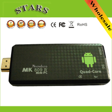 Android 4.2.2 mini PC Quad core RK3188 Google TV Player Box MK809IV 1GB RAM 8GB ROM Bluetooth Wifi HDMI MK809iv Smart TV Stick