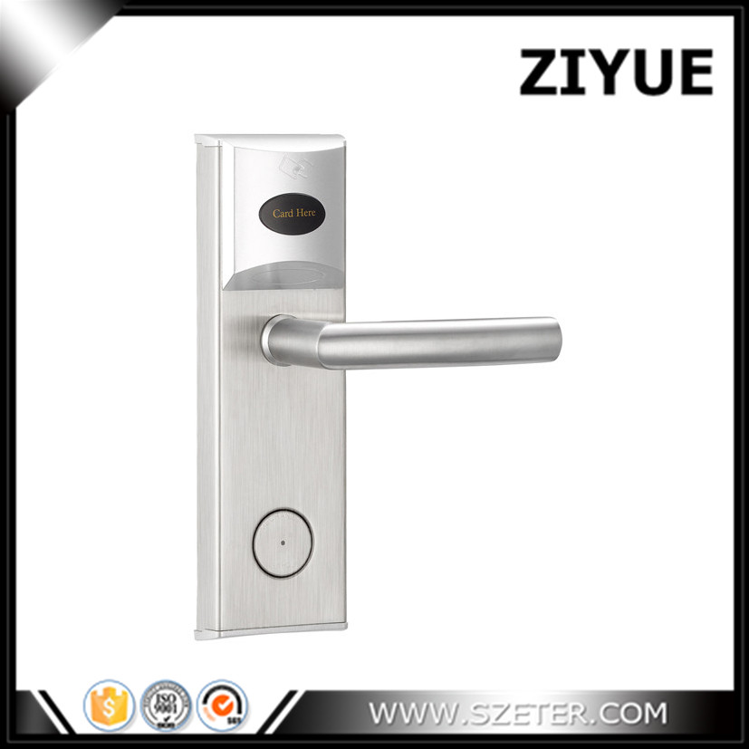 T57 T5577 Card Electronic Digital Electric Hotel Lock Hotel RFID Card Door Lock System with Full System Support intelligent rf card lock system for hotel electric lock