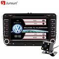 "Junsun 7 ""2 Дин Windows Ce Автомобильный DVD GPS Радио для Volkswagen VW golf 5 6 Passat B6 Touran Sharan Jetta Поло Tiguan"