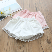 New 2017 Summer Girls Baby Lace Lace Shorts Children S Fashion Hot Pants Baby Kids Shorts