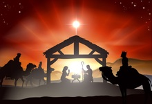 Laeacco Christian Jesus Birth Scene Photography Backgrounds Customized Photographic Backdrops For Photo Studio