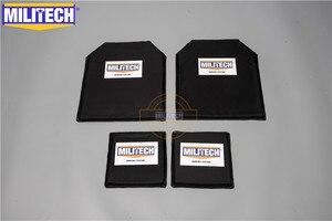 Image 1 - MILITECH 10 x 12 & 6 x 6 Inches Pairs Aramid Ballistic Panel Bulletproof Plate Body Armour NIJ Level 3A 0101.06 &NIJ 0101.07 HG2