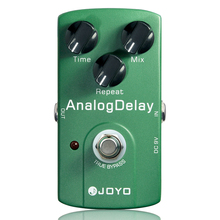 купить Joyo JF-33 Analog Delay Electric Guitar Effect Pedal True Bypass Guitar Effects Accessory Guitar Effect недорого