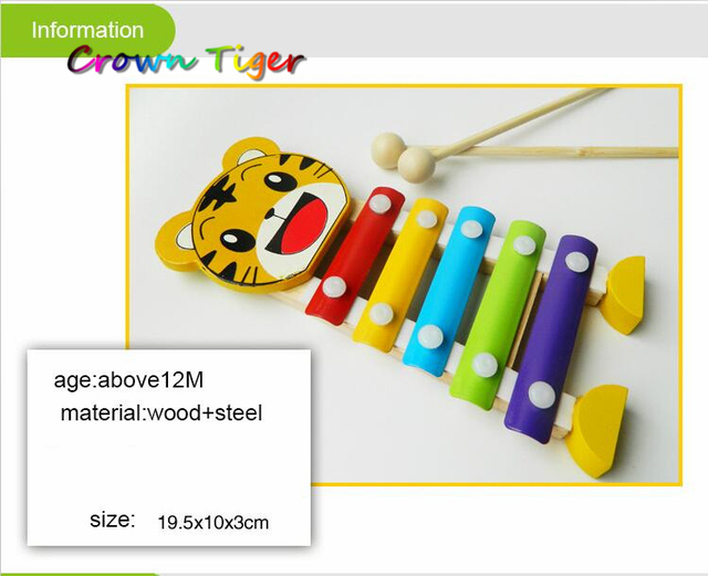 5 Tones Xylophone Toy