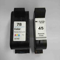 For HP 45 78 Ink Cartridge 78A 45A 51645A C6578A For HP Deskjet 1120c 1125c 1180c