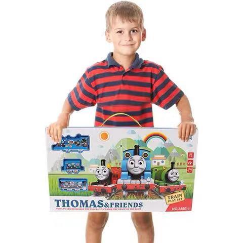 Electric Thomas Train Children's Toy Set
