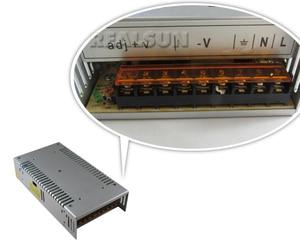 Image 2 - 10 adet/grup Evrensel 24 V 16.7A 400 W Anahtarı Güç Kaynağı Sürücü Anahtarlama LED Şerit Işık Ekran Için 110 V 220 V