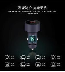Nowa podwójna ładowarka samochodowa USB cyfrowy wyświetlacz LED 5V 3.1A dla Toyota camry corolla RAV4 Yaris Highlander Land Cruiser Vios Vitz Reiz