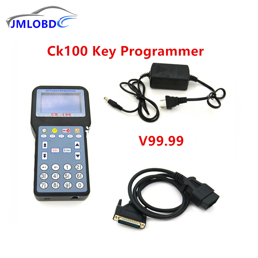 The Latest Version V99.99 V46.02 Optional CK100 Auto Key Programmer CK 100 With Multi-language OBD2 Car Key Programmer CK-100 стоимость