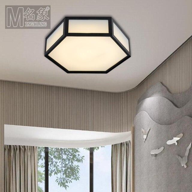 Modern Home Decoration Led Metal Edge Living Room Lights Ceiling Light Bedroom Kitchen
