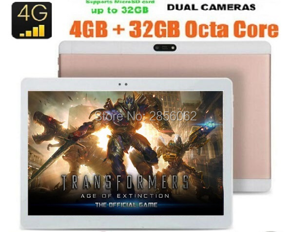 Android 6 0 10 inch tablet Octa Core 4GB RAM 64GB ROM 4G FDD LTE 1920x1200