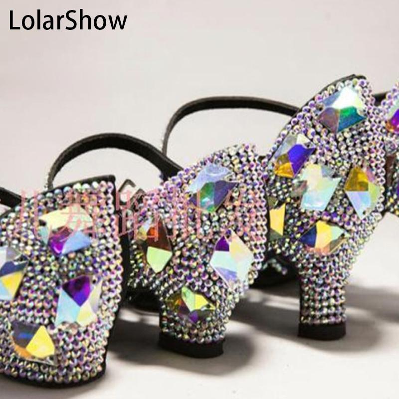 Ballroom Dance Shoes Woman Latin Shoes/Kids Girl Latin Dance Shoes Rhinestone/Salsa Dance Shoes