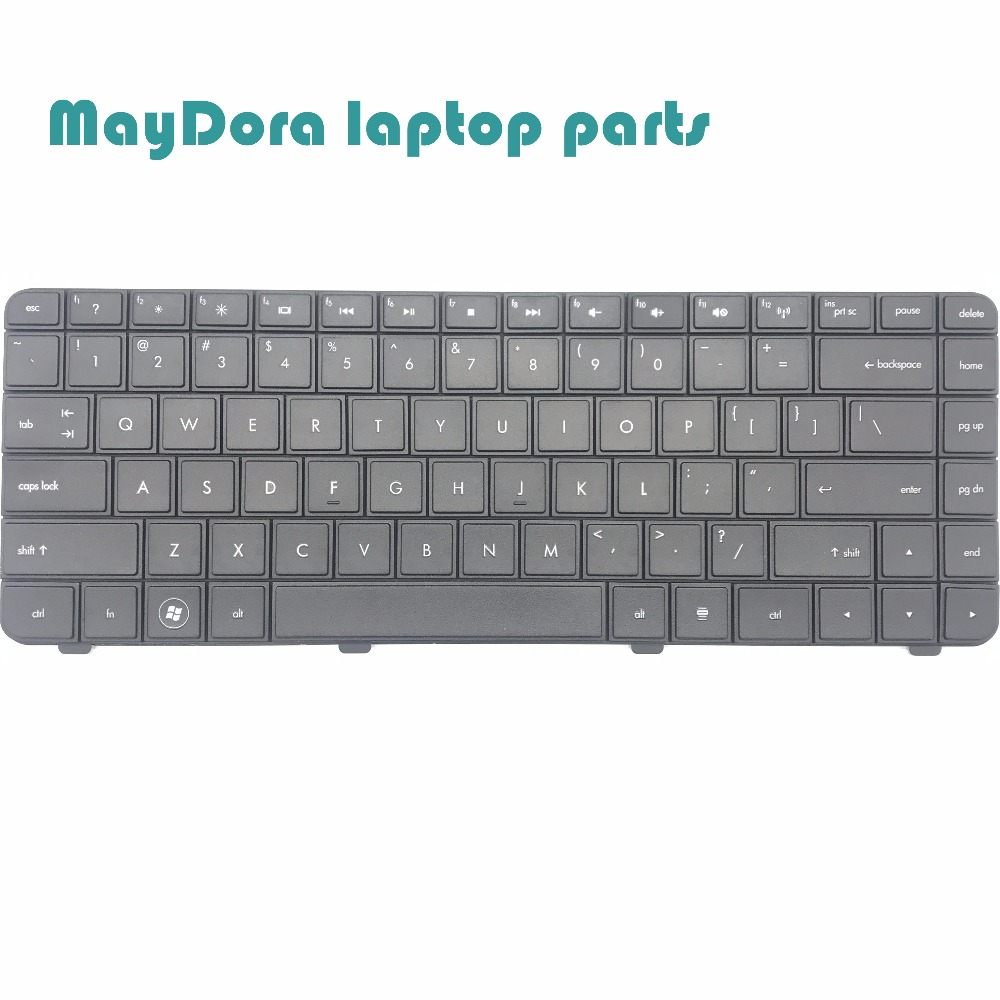 New original Laptop Keyboard for Hp for COMPAQ G42 CQ42 AX1 G42-100 G42-200 G42-300 G42-400 US black keyboard 602034-001 generic new black laptop us keyboard for hp compaq 6530b 6535b series replacement parts