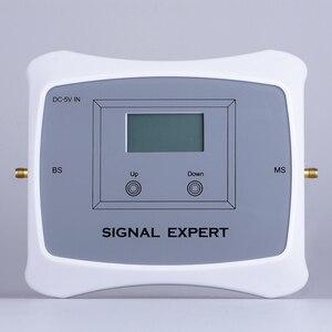 Image 2 - 전체 스마트 듀얼 밴드 2g 3g 4g 모바일 신호 부스터 850/1700MHz 휴대 전화 signgal 리피터 앰프 LCD 디스플레이 키트