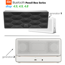 Original Xiaomi Mi Rectangular Bluetooth Speaker Pencil Box Series Square Stereo Portable High Definition 10h Play Music