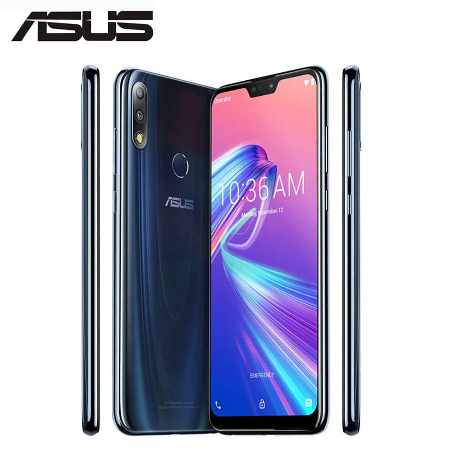 "2018NEW ASUS ZenFone Max PRO M2 ZB631KL 4G LTE 19:9 Full Screen 6.3"" 1080x2280p 5000mAh 4GB 128GB 2160P Snapdragon 660 Octa Core"