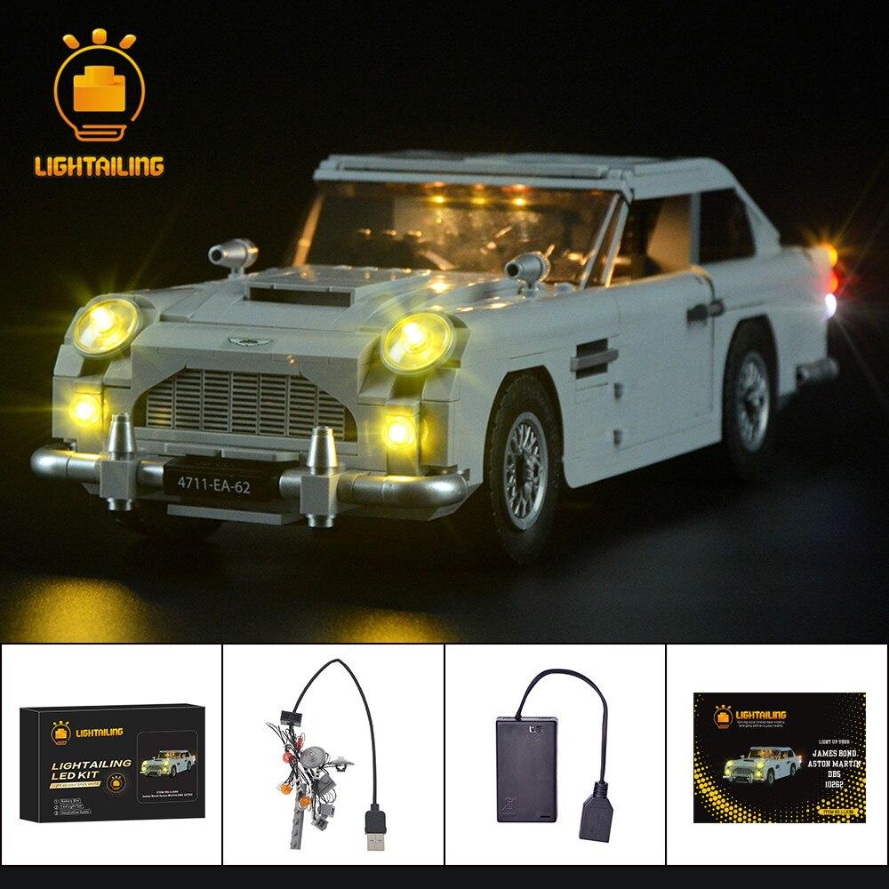 LIGHTAILING HA CONDOTTO Kit Luce Per Creatore di James Bond Aston Martin DB5 Luce Set Compatibile Con 10262 (NON Includere La modello)-in Blocchi da Giocattoli e hobby su AliExpress - 11.11_Doppio 11Giorno dei single 1