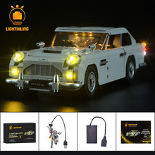 LIGHTAILING LED Light Kit For Creator James Bond Aston Martin DB5  Set Compatible With 10262 (NOT Include The Model)