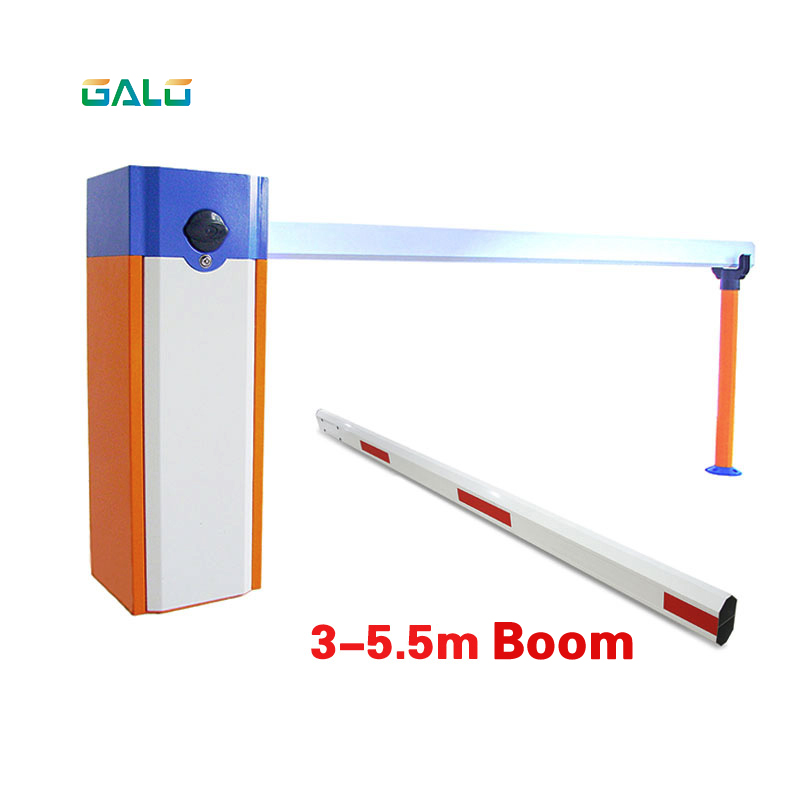 US $344 1 7% OFF|automatic electric boom barrier gate car parking barrier 2  remote control with 3s opening time 4 5m telescopic arm-in Car Parking