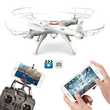 XKY XX5SW-1 2.4G 4 Channel 6-Axis Gyro Headless Mode RC Quadcopter Drone UAV w/ 2MP HD Wifi FPV Camera RTF