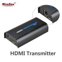 HSV373 HDMI extender TX über TCP/IP UTP/STP CAT5e/6 Rj45 LAN HDMI splitter unterstützung 1080 p HDMI extender arbeit wie hdmi splitter