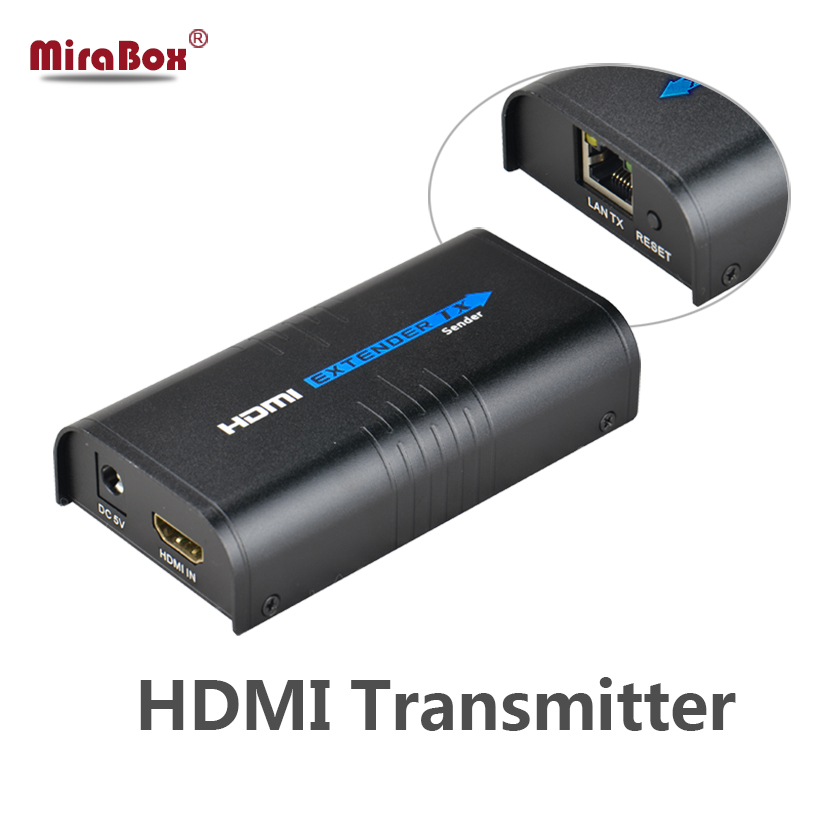 HSV373 HDMI extender TX over TCP/IP UTP/STP CAT5e/6 Rj45 LAN HDMI splitter support 1080p HDMI extender work like hdmi splitter zy dt206c ip network 200m vga lan aux extender via cat5e cat6 1080p vga over tcp ip extender with stereo audio like vga splitter