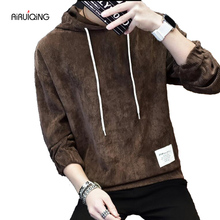 Spring new hoodie ripped damage men fashion sweatshirts brand orignal design casual  pullover plus size men's clothing