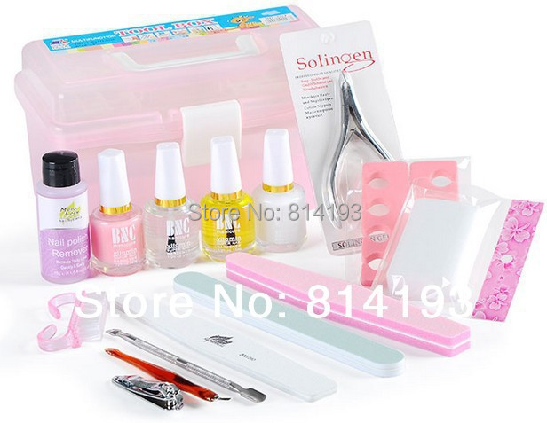 Nail art decorations finger toiletry kit nursing nails gel for Avon nail decoration tool