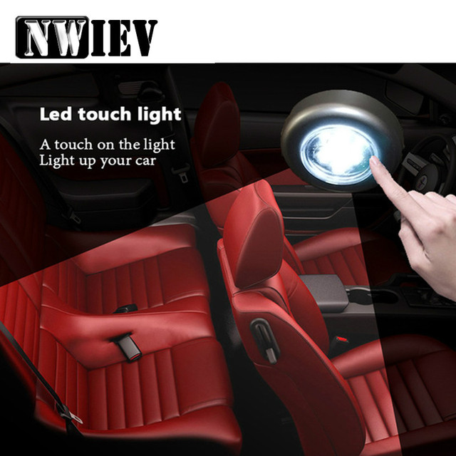 NWIEV Car Interior Grille Reading Lamp Decoration For Honda Fit CRV Suzuki Swift Grand Vitara SX4 Mercedes Benz W203 W204 W211