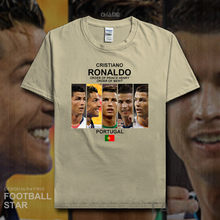 5cbeef629 Cristiano Ronaldo t shirt 2018 jerseys Portuga Madrid footballer star tshirt  100% cotton fitness t-shirt clothes summer new 20