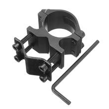 25,4 мм держатель для велосипедного фонарика с 10-21 мм зажимным адаптером для велосипеда велосипедный фонарик лазерный прицел кольцевой держатель