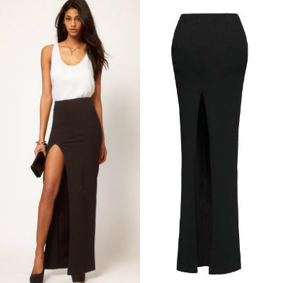 Popular Long Side Slit Skirt-Buy Cheap Long Side Slit Skirt lots ...