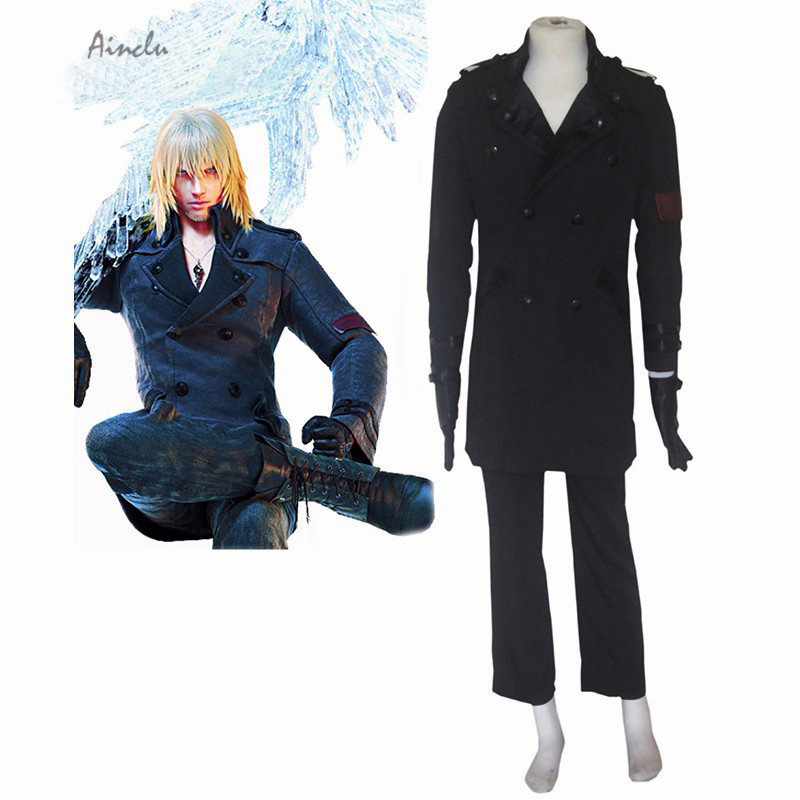 Ainclu Top Selling Lightning Returns: Final Fantasy XIII Snow Villiers Cosplay Costume Anime Costumes For Halloween