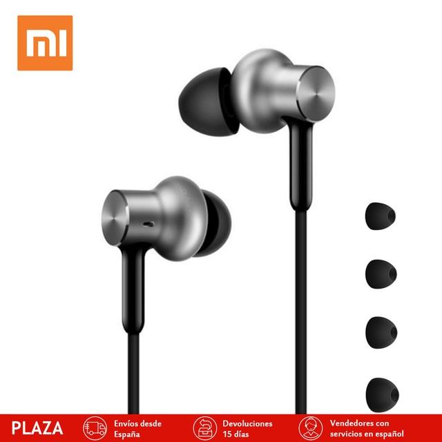 xiaomi nuevo híbrido pro hd auricular con micrófono remoto auriculares en stock para xiaomi redmi red mi teléfono móvil in-ear