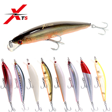 Купить с кэшбэком XTS Fishing Lure 150mm 29g Wobblers Artificial Hard Minnow Bait 8 Colors Available Topwater Floating Fishing Lure Tackle 5225