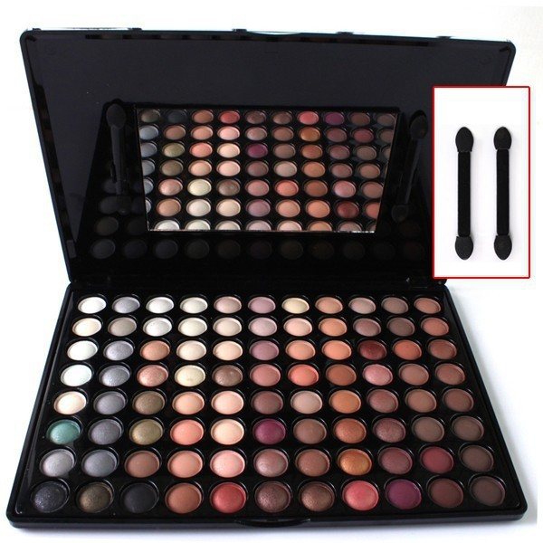 88 Earth Color Eyeshadow Palette Natural Matte Eye Shadow Professional Makeup Palette