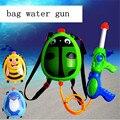 2 set/lot 30*20*40 cm Bolso Grande 3000 ml Pistola de Agua pistola de natación de Largo alcance rafting agua lucha niños pistola de juguete de verano
