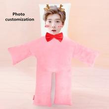 New Hot Photo customization figure cushion Plush Toys Dolls Stuffed Animal Pillow Sofa Car Decorative Creative Birthday Gift