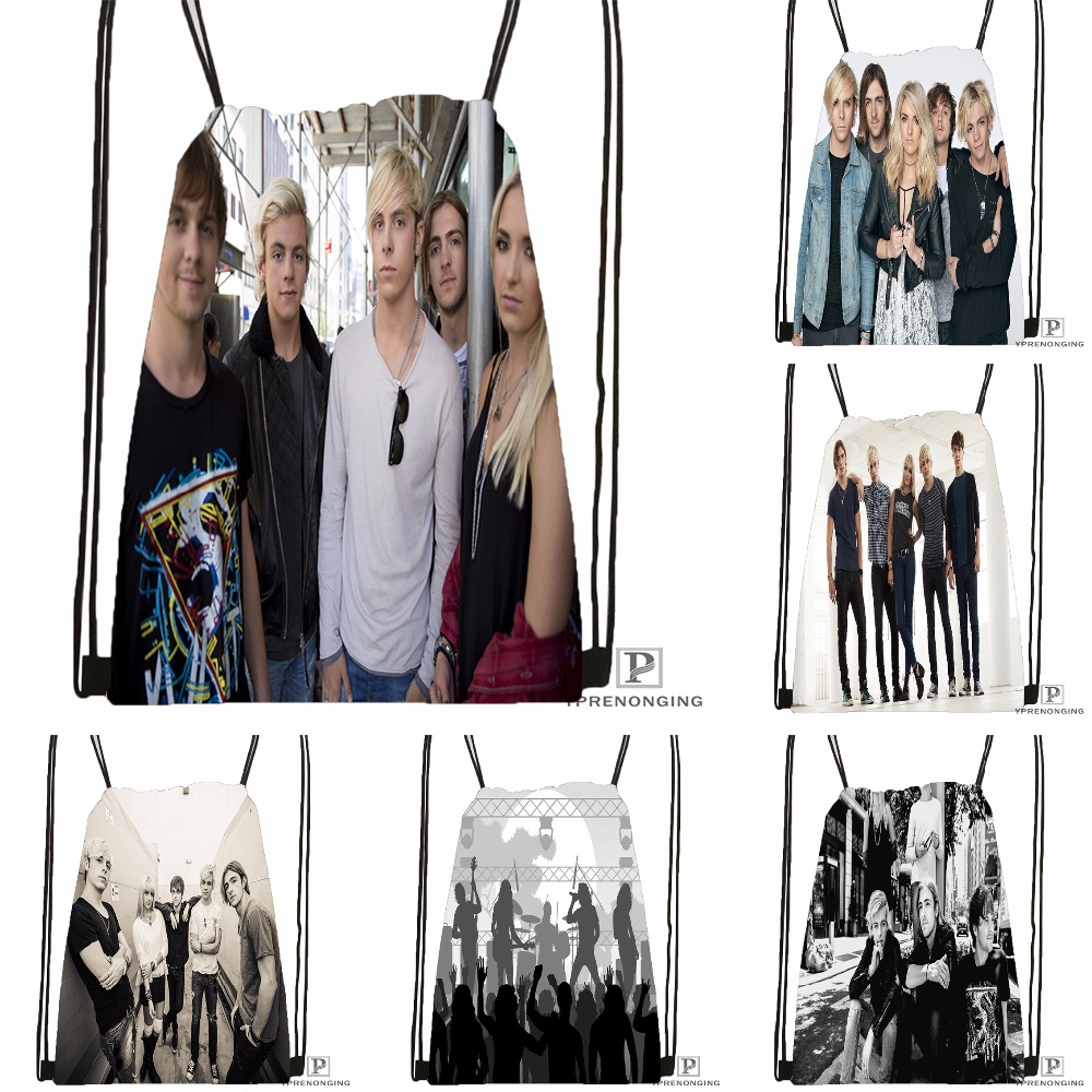 Custom R5 PUB Christian Lantry Drawstring Backpack Bag Cute Daypack Kids Satchel (Black Back) 31x40cm#180531-04-16
