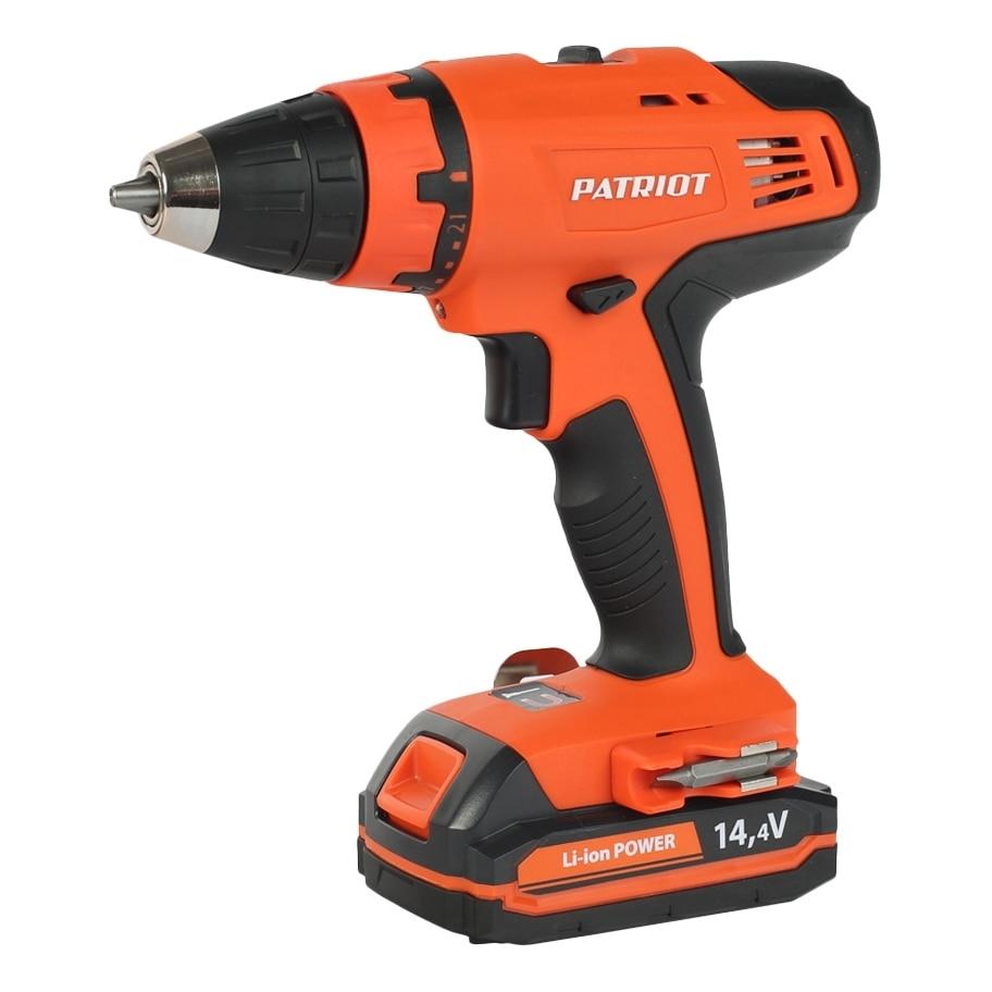 где купить Drill electric screwdriver rechargeable PATRIOT BR 140Li (2 speed, highlighting the work area, magnetic holder) по лучшей цене