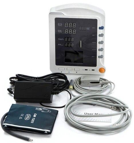 CONTEC 3 Параметры монитор пациента CMS5100 горячие продажи ручной ce 2.8 TFT ЖК дисплей Vital Sign nibp SPO2 PR монитор пациента, ce, fda