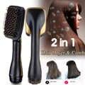 Hair Blow szczotko-suszarka 2 w 1 wielofunkcyjny prostownica do włosów style elektryczny grzebień do włosów jonów ujemnych pielęgnacja Salon fryzjer
