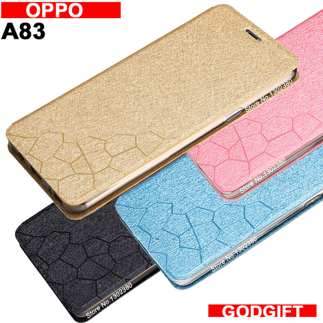 hot sale online 9ccb3 1b62d US $6.99 |Oppo A83 case cover leather luxury water cube pu flip case For  Oppo A 83 cover case 4 style A83 OPPO case-in Flip Cases from Cellphones &  ...