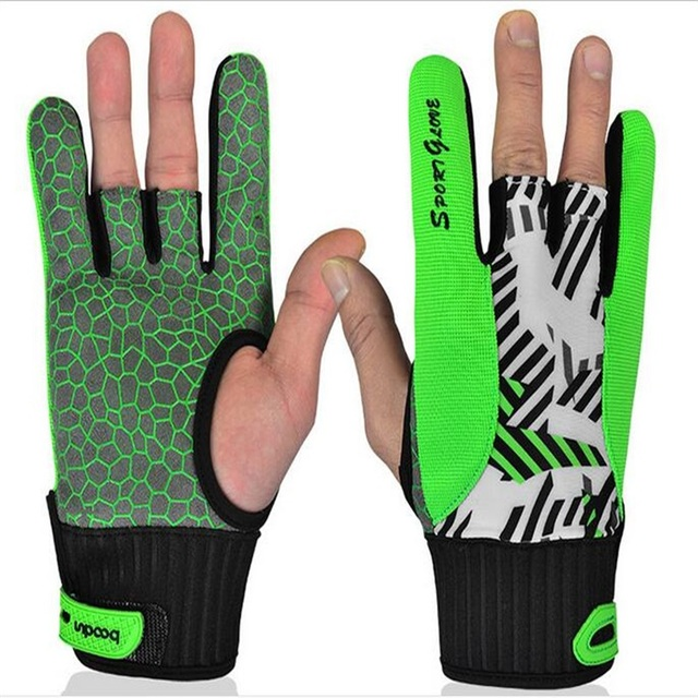 High quality bowling gloves Silicone anti-slip gloves for Bowling