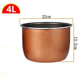Image 2 - Pentola a pressione elettrica fodera multicooker ciotola 4L/5L/6L litro non stick pan doppio spruzzo ispessimento