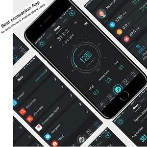 Image 5 - Yeni M5 hibrid akıllı saat IP68 su geçirmez şeffaf ekran akıllı bant nabız monitörü IOS Android için akıllı bileklik