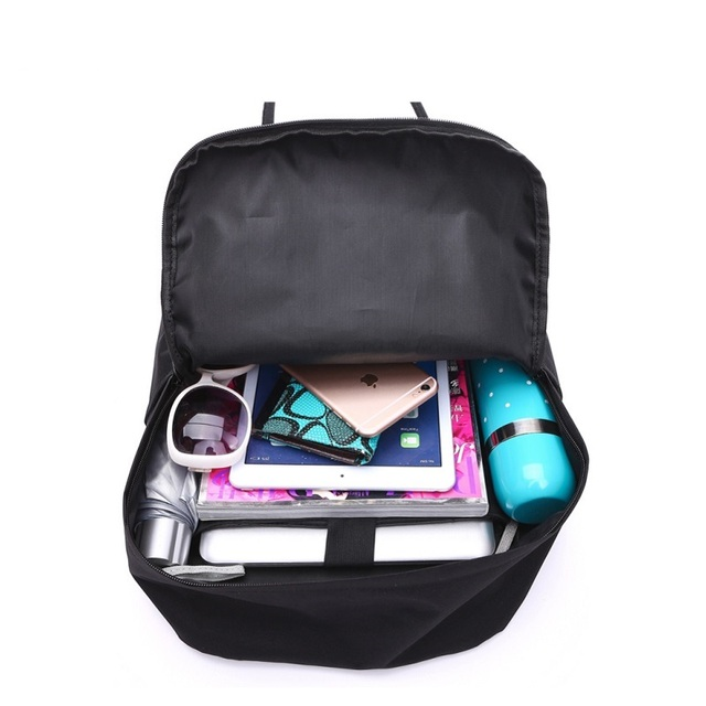 Women's Capacious Colorful Oxford Backpack without Pattern